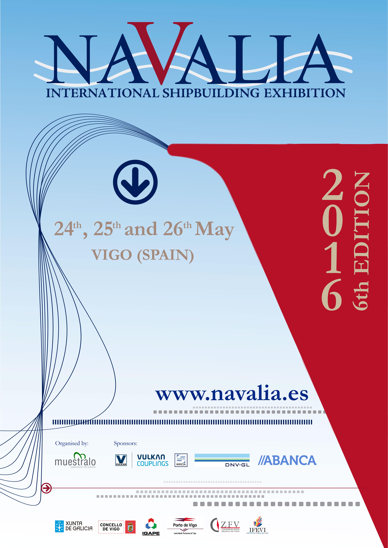 NAVALIA 2016, la Feria Internacional de la Industria Naval – International Shipbuilding Exhibition (24-26 may 2016)