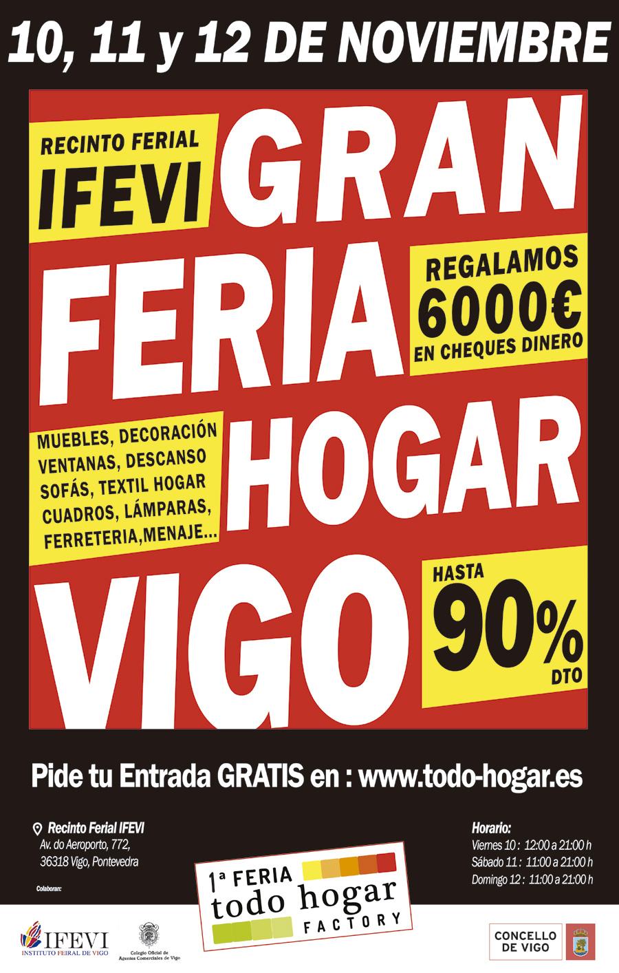 1 feria hogar factory ifevi instituto ferial de vigo for Decoracion hogar vigo
