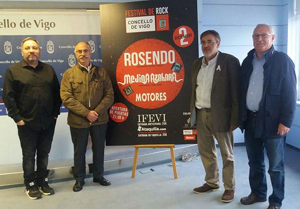 Presentación del I Festival de Rock Concello de Vigo